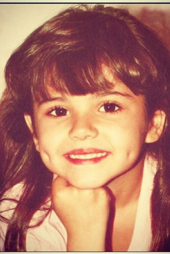 Cheryl Cole childhood photo one at Marieclaire.com