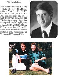 Phil Mickelson yearbook photo one at Golfdigest.com at Golfdigest.com