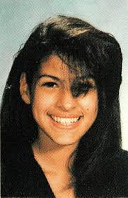 Eva Mendes childhood photo two at pinterest.com