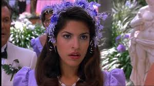 Eva Mendes first movie:  A Night at the Roxbury