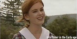 Isla Fisher younger photo one at proudstories.com