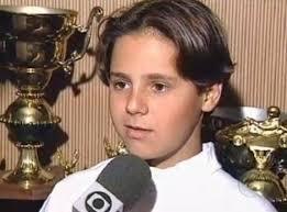 Felipe Massa childhood photo one at racefeeder.com