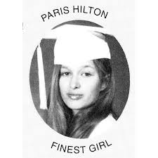 Paris Hilton yearbook photo one at telegraph.co.uk at telegraph.co.uk