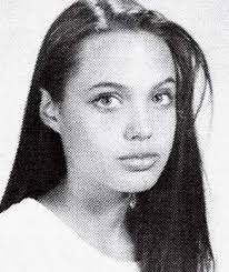 Angelina Jolie yearbook photo one at viralscape.com at viralscape.com