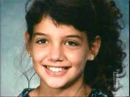 Katie Holmes childhood photo two at pinterest.com