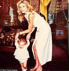 Tiffany Trump childhood photo one at dailymail.co.uk