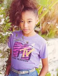 Amandla Stenberg childhood photo one at pinterest.com