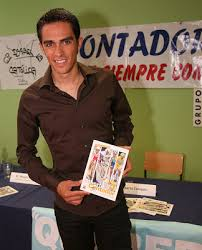 Alberto Contador younger photo one at blogspot.com
