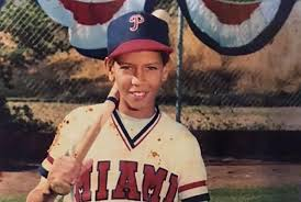 Alex Rodríguez childhood photo one at mlb.com