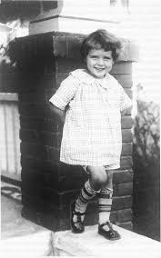 Betty White childhood photo one at pinterest.com