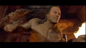 Dwayne Johnson first movie:  The Mummy Returns