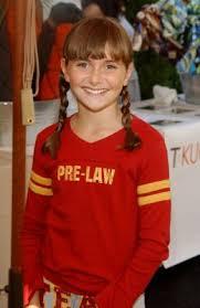 Alyson Stoner, foto de infância um em pinterest.com