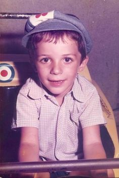 Alessandro Del Piero childhood photo one at pinterest.com