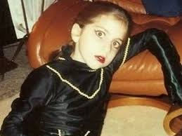 Lady Gaga childhood photo one at emgn.com