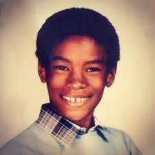 Tyson Beckford childhood photo one at pinterest.com