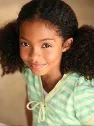 Yara Shahidi childhood photo one at pinterest.com