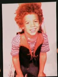 Vin Diesel childhood photo two at pinterest.com