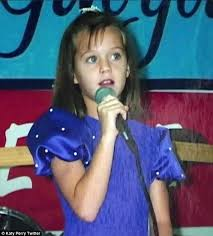Katy Perry childhood photo one at dailymail.co.uk