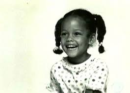 Alicia Keys childhood photo two at pinterest.com