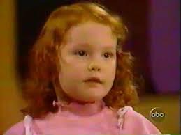 Alicia Witt, foto de infância dois em people.com