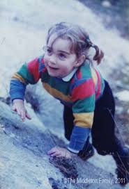 Kate Middleton childhood photo one at chron.com