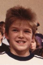 David Beckham childhood photo one at pinterest.com
