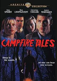 Amy Smart first movie:  Campfire Tales