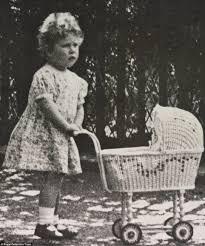 Queen Elizabeth II childhood photo two at pinterest.com