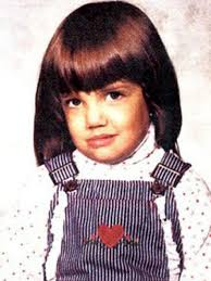 Katie Holmes childhood photo one at pinterest.com