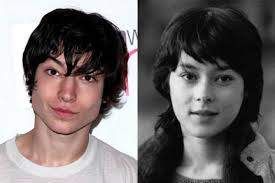Ezra Miller childhood photo two at blogpost.com