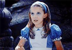 Millie Bobby Brown first movie:  Once Upon a Time in Wonderland