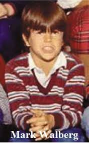 Mark Wahlberg childhood photo two at pinterest.com