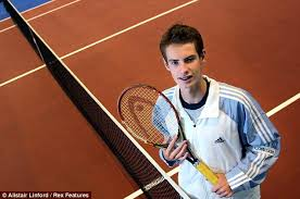 Andy Murray younger photo two at dailymail.co.uk