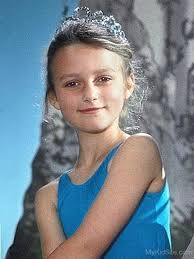 Keira Knightley childhood photo two at mykidsite.com