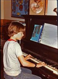 Jared Leto childhood photo two at pinterest.com