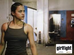 Michelle Rodriguez first movie: Girlfight