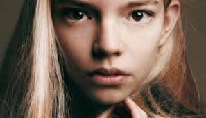 Anya Taylor-Joy childhood photo two at pinterest.com