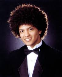 Bruno Mars yearbook photo one at billnboard.com at billnboard.com