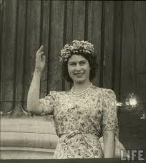 Queen Elizabeth II younger photo one at vintag.es