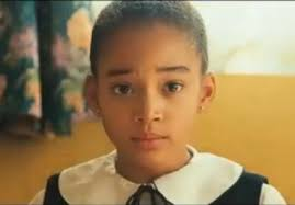Amandla Stenberg first movie:  Colombiana