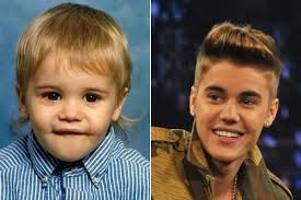 Justin Bieber childhood photo one at popcrush.com