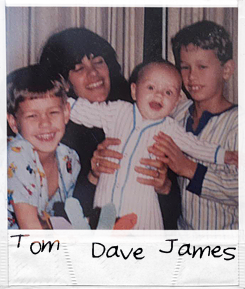 James Franco childhood photo one at tumblr.com
