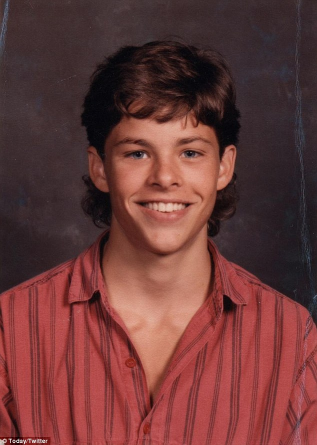 James Marsden yearbook photo one at jamesmarsdenfan.net at jamesmarsdenfan.net