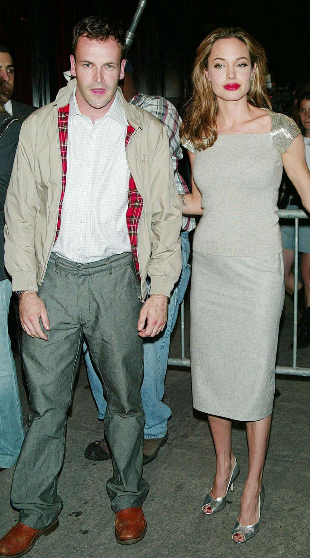 I M Very Protective Of My Friends Angelina Jolie S Ex Husband Jonny Lee Miller Admits To Still Being Defensive The Actress Entertainmentwise