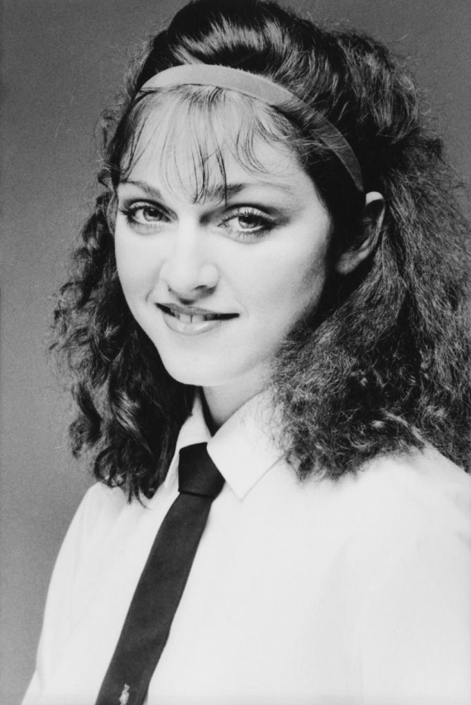 Madonna yearbook photo one at Reddit.com at Reddit.com