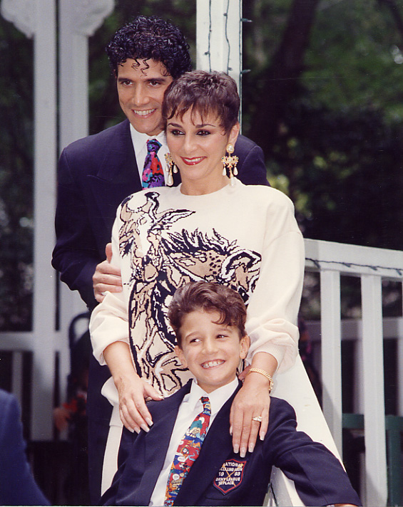 Mark Ballas childhood photo one at Pinterest.com