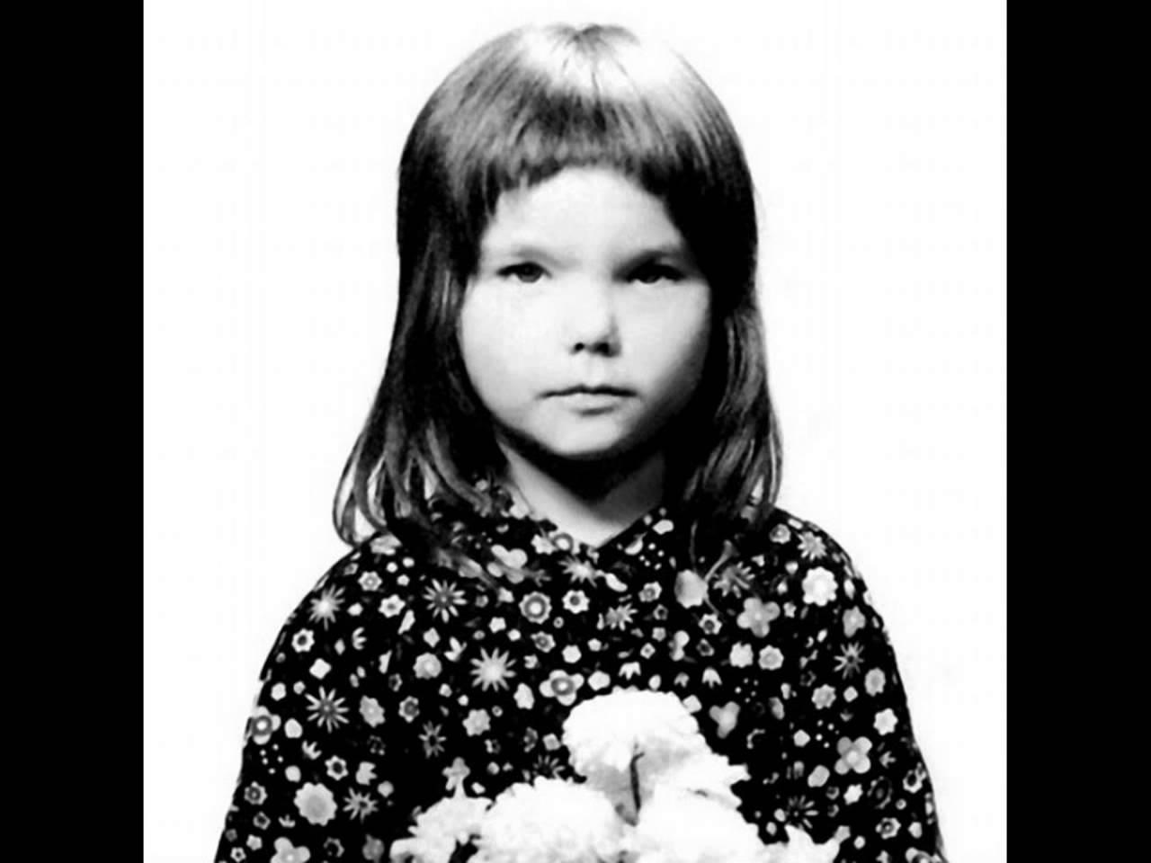 Björk childhood photo one at Youtube.com