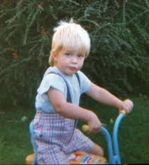 Robert Pattinson childhood photo one at okmagazine.com