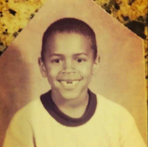 Chris Brown childhood photo three at Pinterest.com