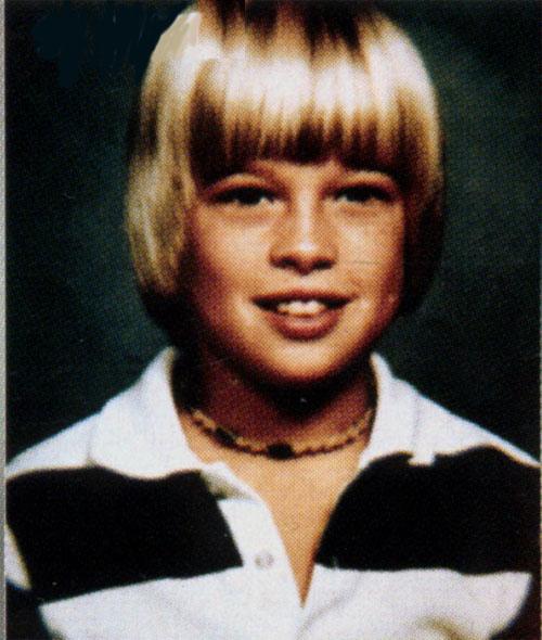 Brad Pitt childhood photo three at gstatic.com